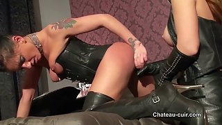 Horny leather girls - part 2