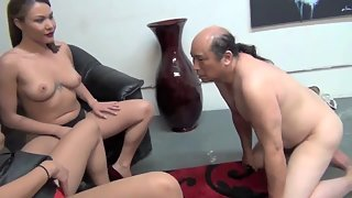 AsianMeanGirls - Jerk Off For Me And My Hot New Girlfriend