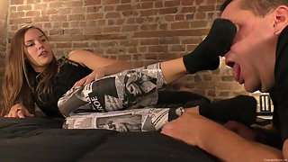 Dream Girls In Socks - Cassandra - Foot Humiliation
