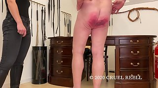 CruelReell - COVID Offer Ballbusting