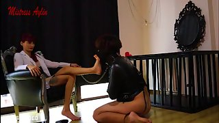 [Turkish Mistress Aylin] Slave gone mad