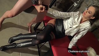 Her leather sex slave - part 3