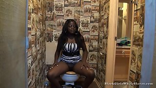 [Black Girls White Slaves] Clean My Black Ass
