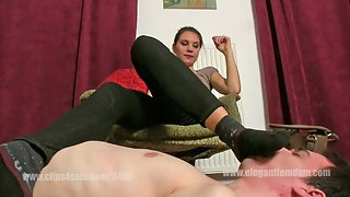 Mistress Lucy - Shoes And Socks Smelling