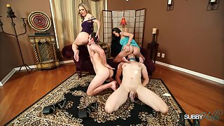 SubbyHubby - Raven Bay, Alina Long - Cucky Boy Play Date (Ass Worship)