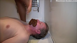 MistressEsme - Second time consuming [Toilet Slavery]