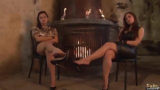 FemdomBeauties - Goddess Lena & Cruel Reell - Pay for Sexy Feet