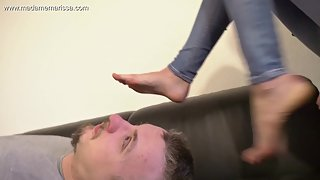 Madame Marissa - Smothered By My Big Powerful Feet