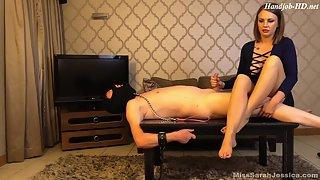 Mistress Sarah Jessica - 10 seconds to cum