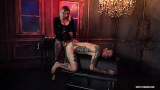 Madeline Marlowe - Hot Secretary - Using Her Boss's Holes