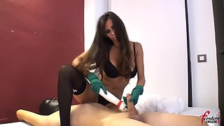 FemdomInsider - Trying Out Her New Vibrator
