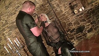 Dominated leather girl - part 1