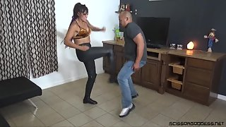 ScissorGoddess - Dezy Desire - Dezy Learns To Bust Balls
