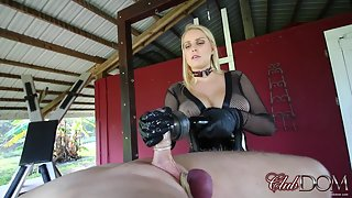 Vanessa - Painful Milking Day for Slave