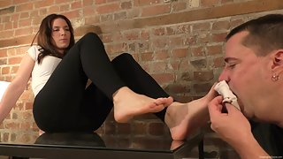 Dream Girls In Socks - Chelsea's Foot Humiliation