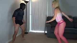 Princess Kelly - Pink Thong Ballbusting