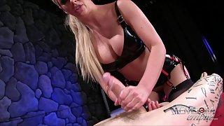 The ultimatum Mistress Cherie strokes
