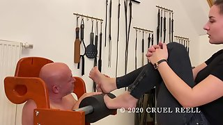 CruelReell - Foot Gagging