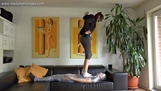 Madame Marissa - Wrapped up helplessly under stinky socks