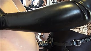 MistressEzada - Brutal Assfuck - Mistress Ezada Abusing Her Sissy Slut's Pussy