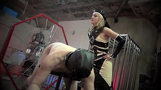 DomNation - YOUR PUNISHMENT IS BLACK AND WHITE. Starring Mistress Renee Trevi
