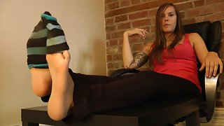 Dream Girls In Socks - Cassandras - Sweaty Socks