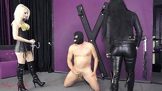 Cum Eating Wanker Slut In Extreme Humiliation