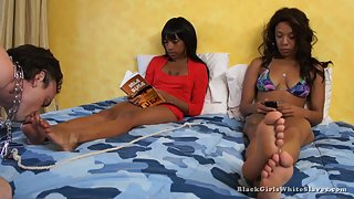 [Black Girls White Slaves] Take Care of Our Feet