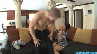SubbyHubby - Mom Trains The New Boyfriend (Part 1)