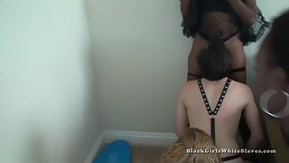 [Black Girls White Slaves] Using White Slaves