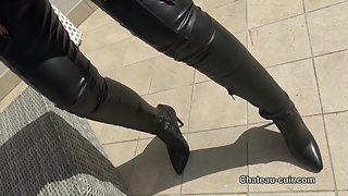 Clean My leather chap boots
