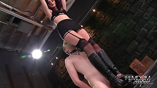 FemdomEmpire - AMAZON BOOT FUCK