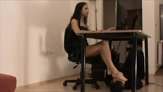 Lady Mira Office FootWorship P1