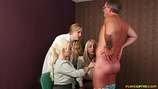 PureCFNM - Liz Rainbow, Princess Eve & Satine Spark - Natural Viagra
