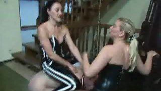Strapon Duo 2 By Lady Estelle and Baroness Bijou Part2