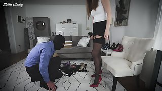 StellaLiberty - Shoe Store Perv Gets Punished