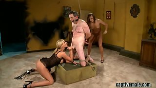 Phoenix Marie, Nika Noire and Les Moore The Peeping Tom