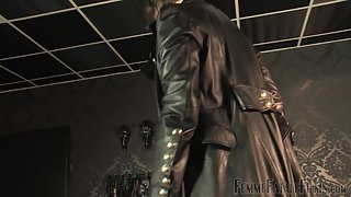 [FemmeFataleFilms] Leather Licking Loser