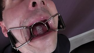 Spitting Fetish Human Spittoon for Mistress Bertie