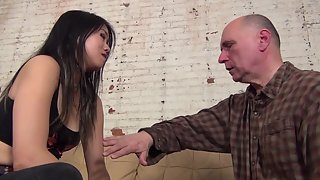 AsianMeanGirls - Swallow My Spit Farm Boy