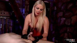 Lexi Sindel - Steel Chastity Milking