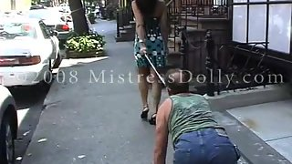 [Saharah Eve] Walk in New York - Mistress Dolly