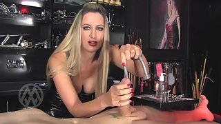 Mistress Nikki Whiplash - Extreme urethral stretching & depth training