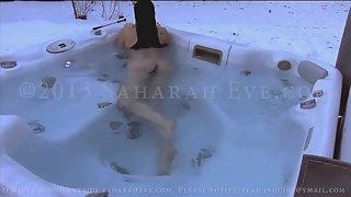 [Saharah Eve] Jacuzzi Tease