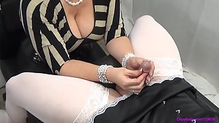 Forced By Step-Mommy - Closeup Sissy Milking