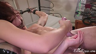 Ruined Orgasms and Milking My Slave's Swollen, Sore Cock!