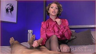 Mistress T - Teacher Controls Chronic Masturbator