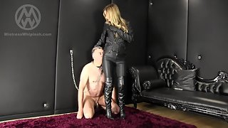 Chastity Leather Worship