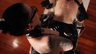 Cybill Troy Dildo Fucking - Pounded in Chains