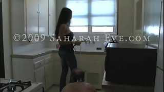 [Saharah Eve] Lesson in the Kitchen - Mistress Dolly